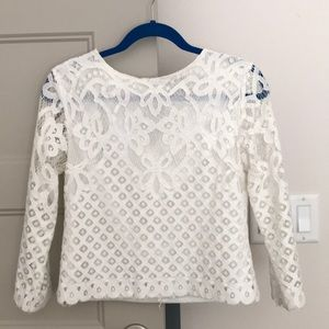 Miss Kelly Detailed Lace Blouse